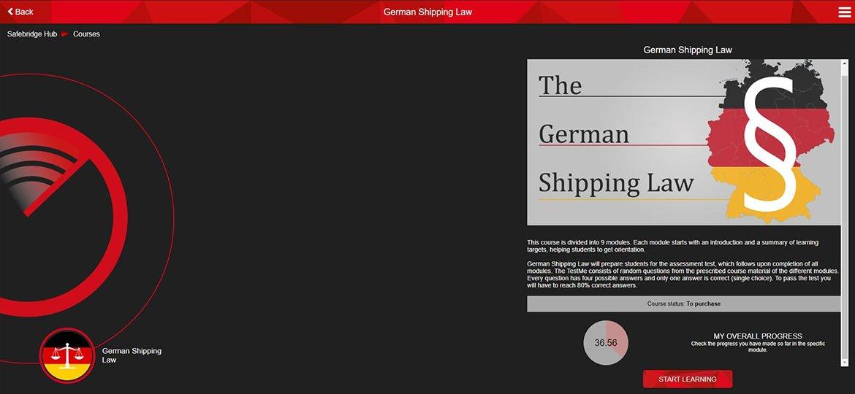 <mark>German</mark> Shipping Law