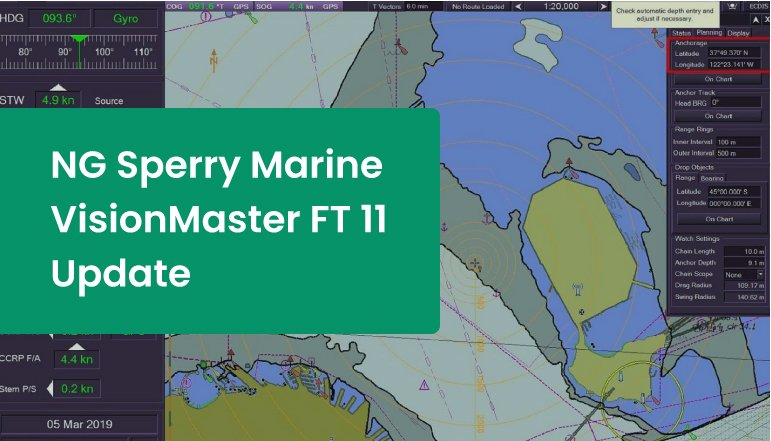 The Latest Version of NG Sperry Marine VisionMaster FT Course Released