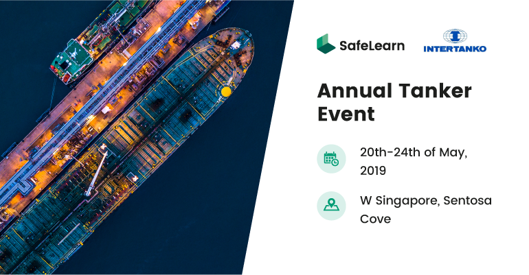 Meet the SafeLearn team at the Intertanko Annual Tanker Event 2019
