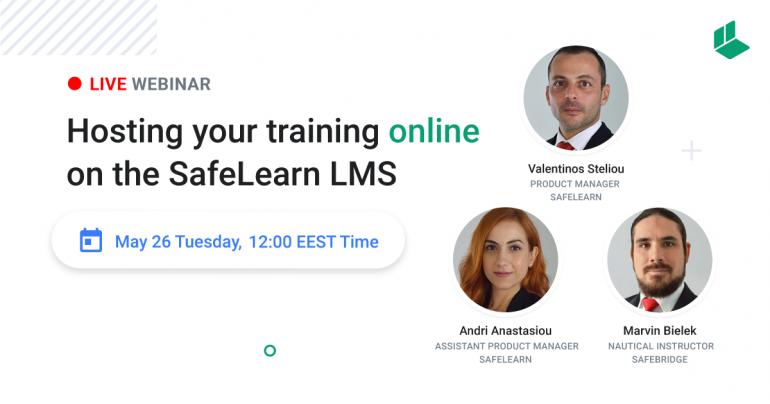 Webinar: Hosting your training online on the SafeLearn LMS
