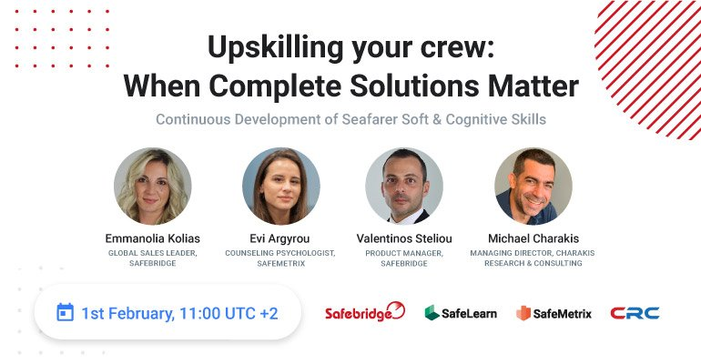 <mark>ON-DEMAND EVENT</mark> – Continuous Development of Seafarer Soft & Cognitive Skills