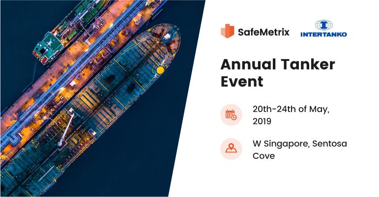Meet the SafeMetrix Team at the Intertanko Annual Event 2019