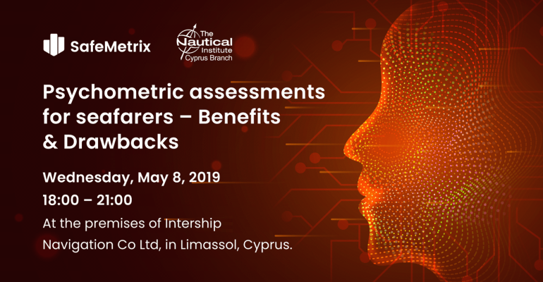 Dr. Luiza Shahbazyan to Participate in the Nautical Institute Seminar on Psychometric Assessments