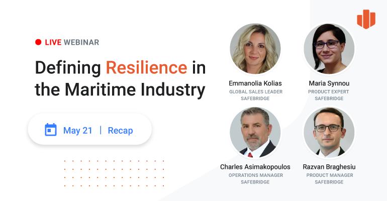 Webinar [RECAP]: Defining Resilience in the Maritime Industry