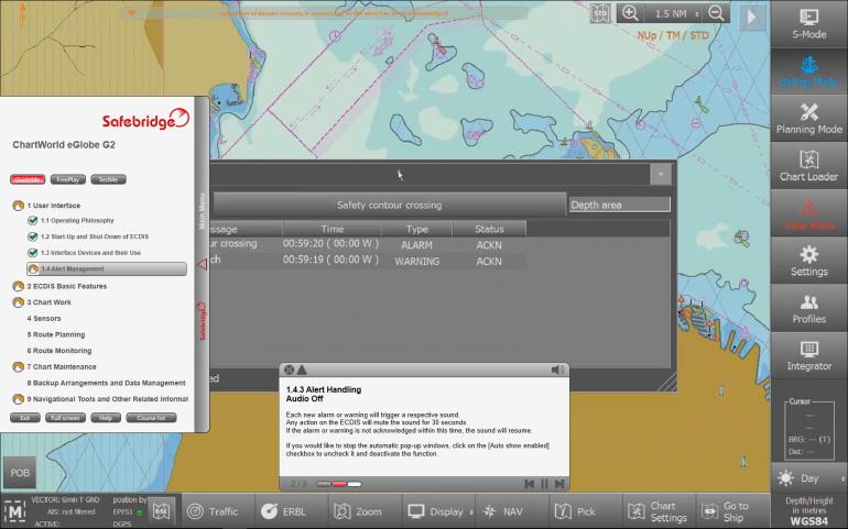 Safebridge presents the latest version of ChartWorld eGlobe G2 released this September