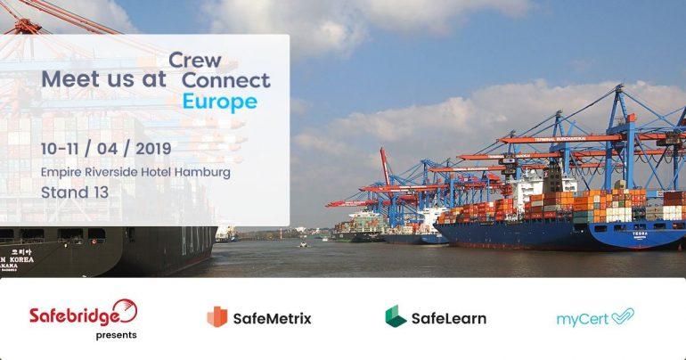 Safebridge participates in CrewConnect Europe 2019