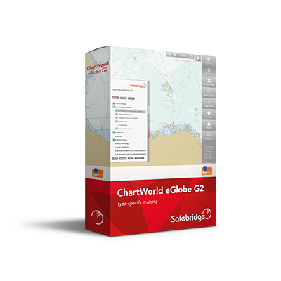 New Safebridge online ECDIS training course eGlobe G2 from ChartWorld