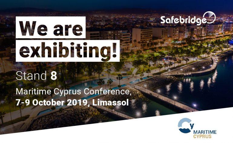 Safebridge is exhibiting at Maritime Cyprus 2019