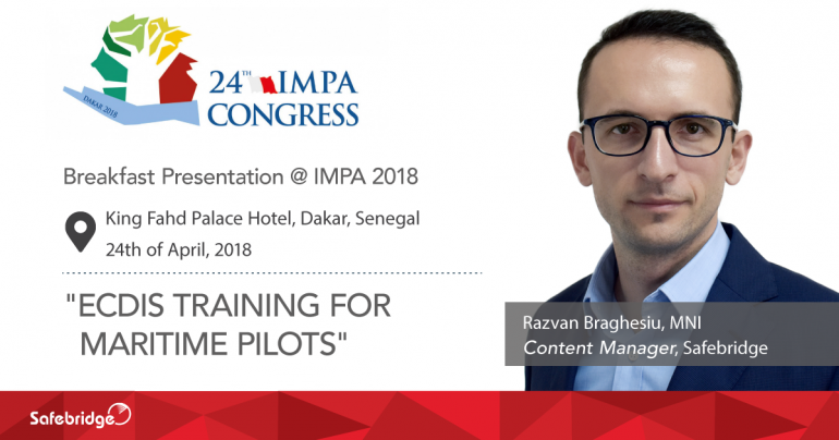 Join our breakfast presentation at IMPA 2018, in Senegal