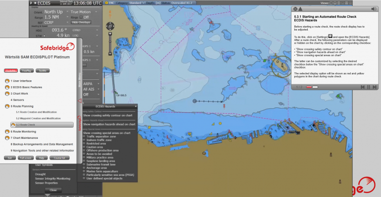 Press Release: New ECDIS type-specific refresher courses