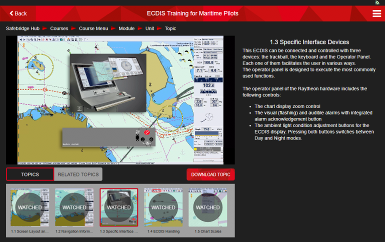 Introducing a brand new training course by Safebridge: ECDIS Training for maritime pilots