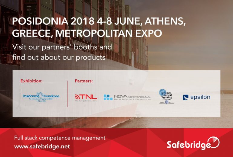 Pleased to join Posidonia – The International Shipping Exhibition